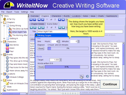 Top 12 software to write your novel