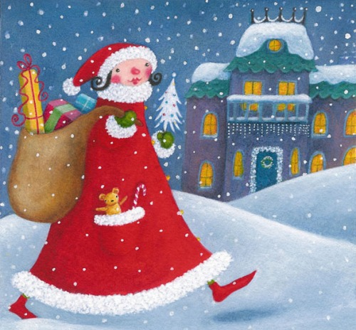 MitchellChristmas_card_design_Mrs_Santa