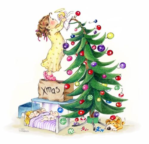 Susan DarwbridgeXmas_tree_angelcolorfinal_ original_scan_fxd1 KT