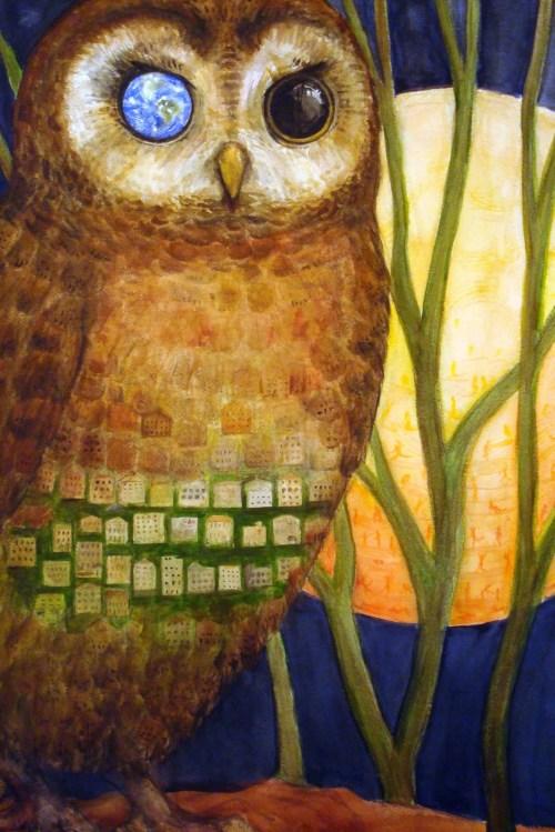 dowOwl's Gaze, Lone Tree Art Show 2010