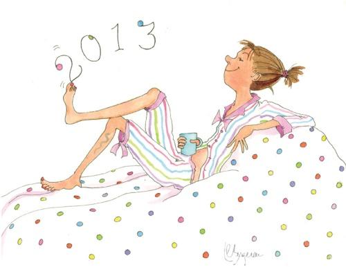 LouiseCB January illust