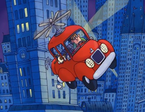 Patrick flying car