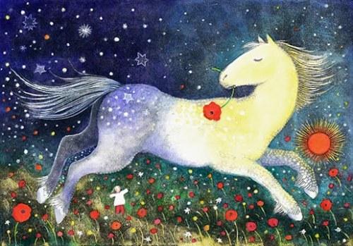 kristinaflying horse blog