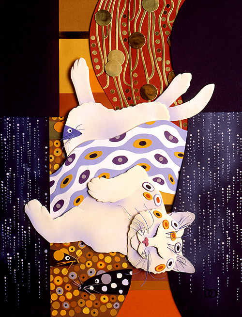 Klimt Kitty