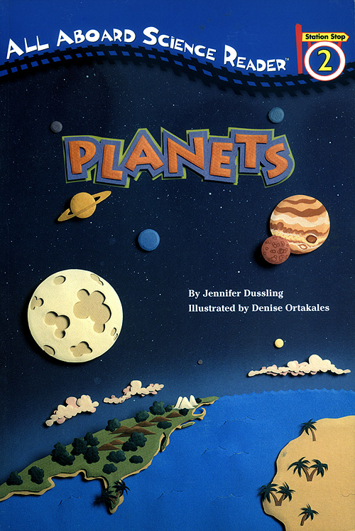 Planets: All Aboard Reading Cover
