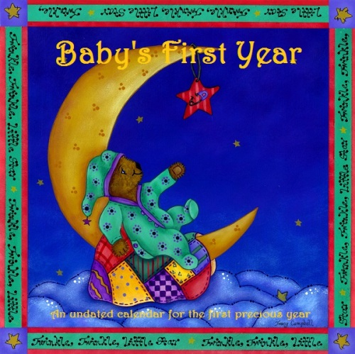 Tracy Campbell - Calendar Cover Art - Baby's First Year