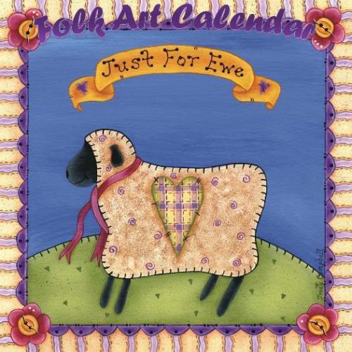 Tracy Campbell - Folk Art Calendar Cover