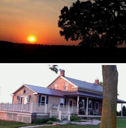 Tracy Campbell - Our Farmhouse--Circa 1841