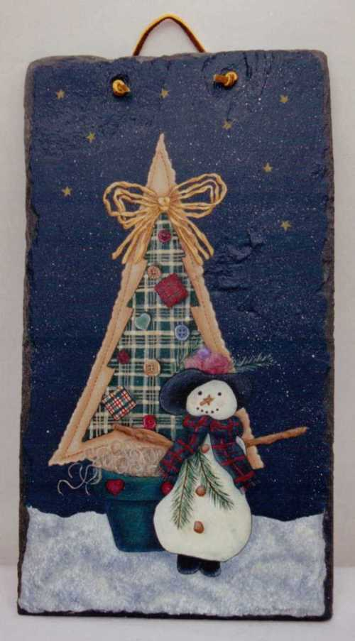 Tracy Campbell - Potted Fabric Christmas Tree 3