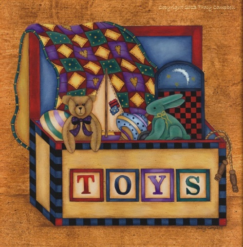 Tracy Campbell - Toys 1