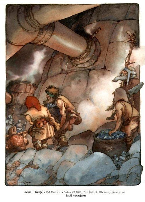 wenzelDwarfen miners