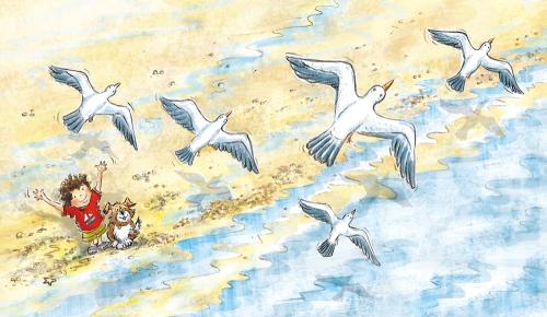 hazel1, 2, 3 by the Sea Interior 3