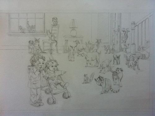 elijah sketch