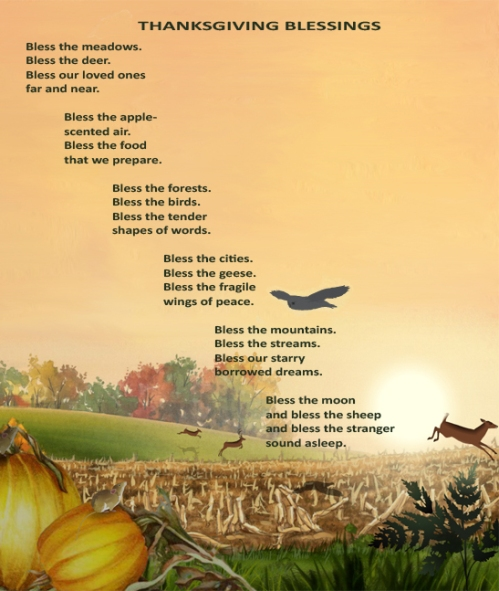 Happy Thanksgiving Blessings – Poem Eileen Spinelli ...
