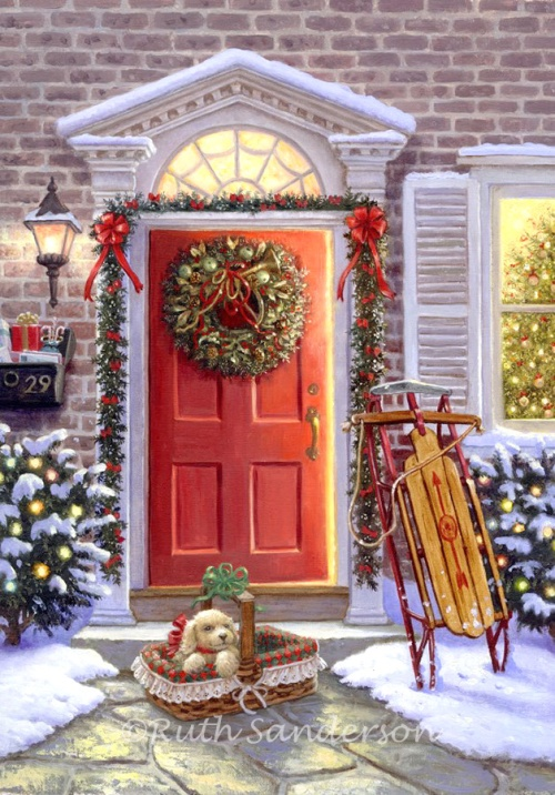 ruthsandersonC003_Christmas-Doorway