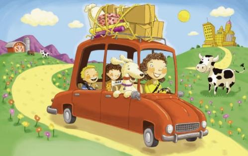 bobFamily Car Trip
