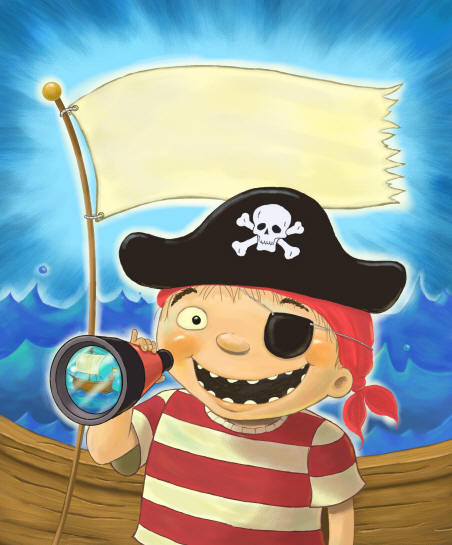 bobI'm a Pirate Box Art