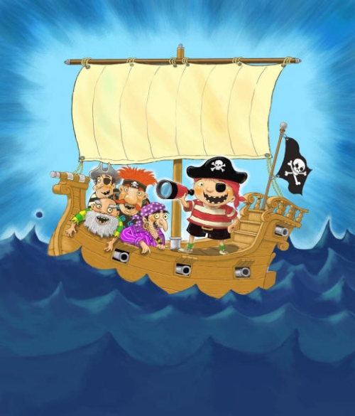 bobPirates Book Cover