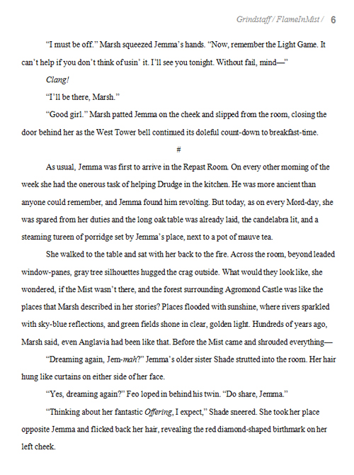 poetry book manuscript format