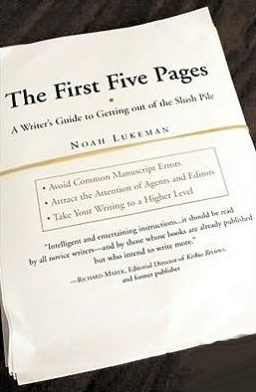 first five pages