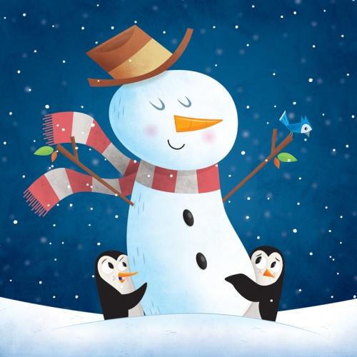 robpenguins-snowman