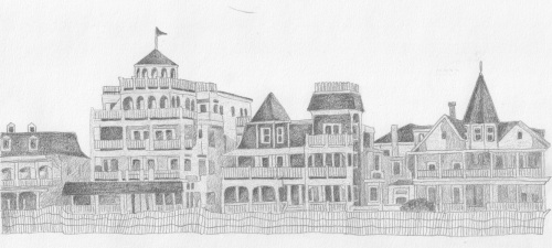 colleencape may houses_pencil_sketch