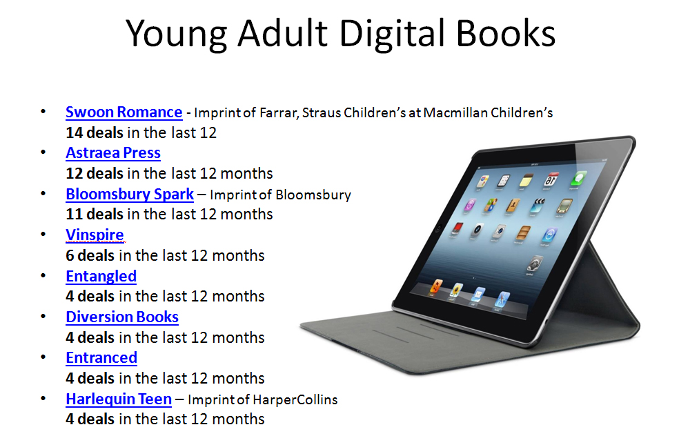 book publisher adult Young