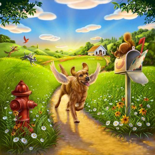 dog-heaven-with-wings-anne-wertheim
