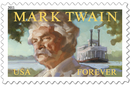 manchessGregory_Manchess__Mark_Twain_Forever_Stamp1