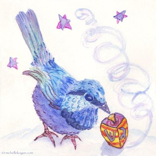 Bluebird-&-Dreidel--©-M-Kogan-12-14-2014