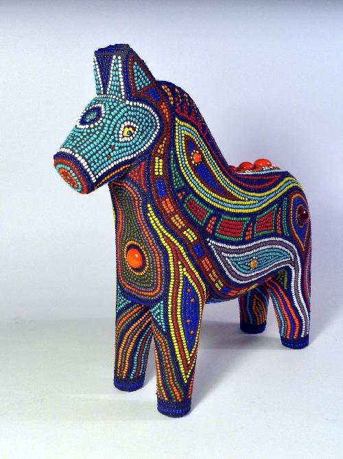 Christinebeaded horse