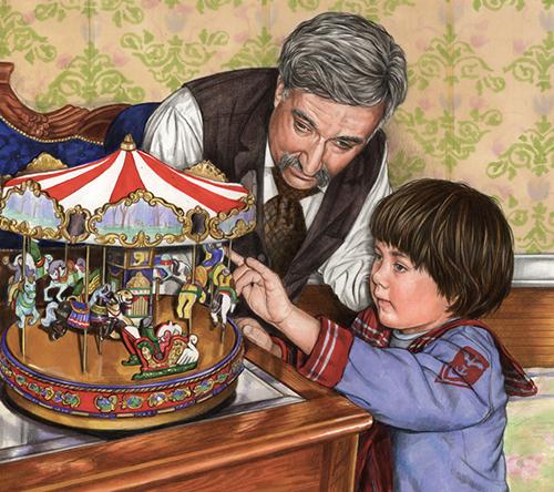 blogA carousel grandpa