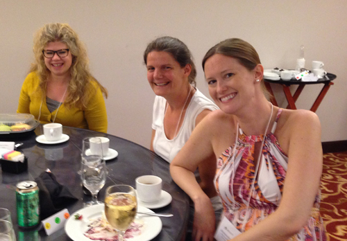 Marcie, Rachel, Shannon