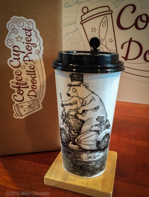 Coffee Cup Doodle Project