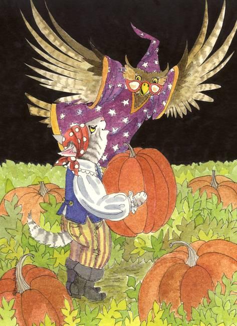 Picking-Pumpkins-for-Halloween_art