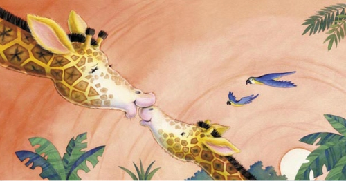 giraffekisses