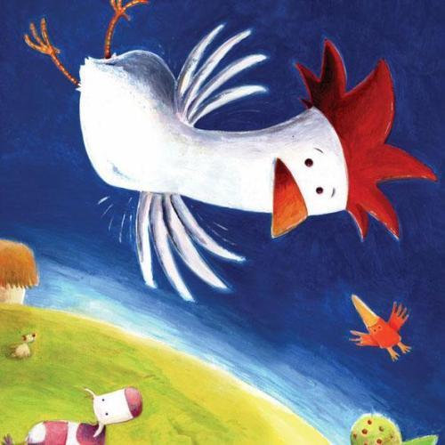 flying hen