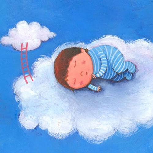 sleeping in the clouds