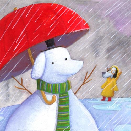 snowdog rain