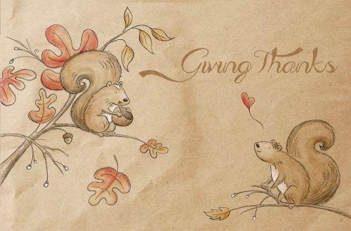 blog giving thanks Kristin Thanksgiving