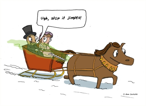 Blog hrfistmas Anna Guillotte sleigh-ride-from-hell-Anna-Guillotte