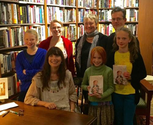 blog lauren Mills group book signing