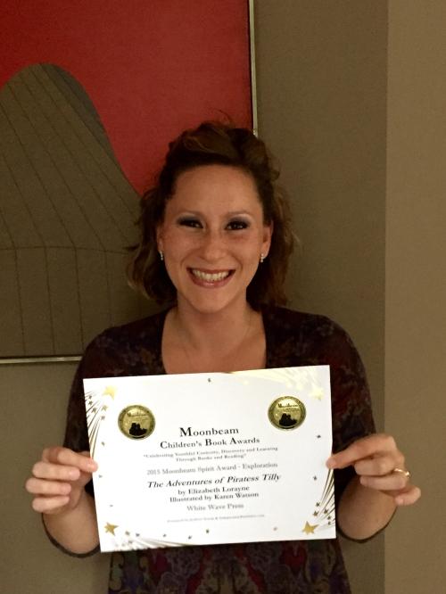Blog Piratess Tilly Elizabeth Lorayne Moonbeam Certificate