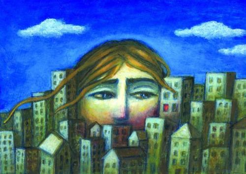 city big head