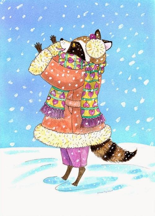 Winter-Raccoon-with-Snow-Di-WEB