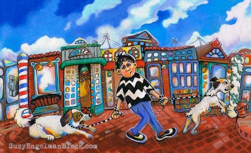 blogSEBlock MannyMoeMac village walk100