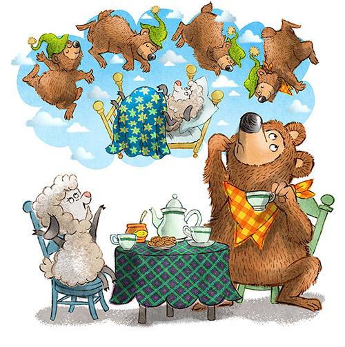 john nez counting bears