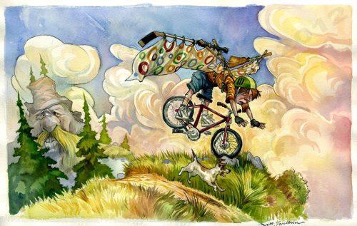 bicycle wings