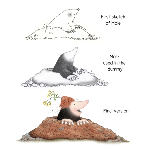 bookgiveaway Nancy armo mole_characterdevelopment