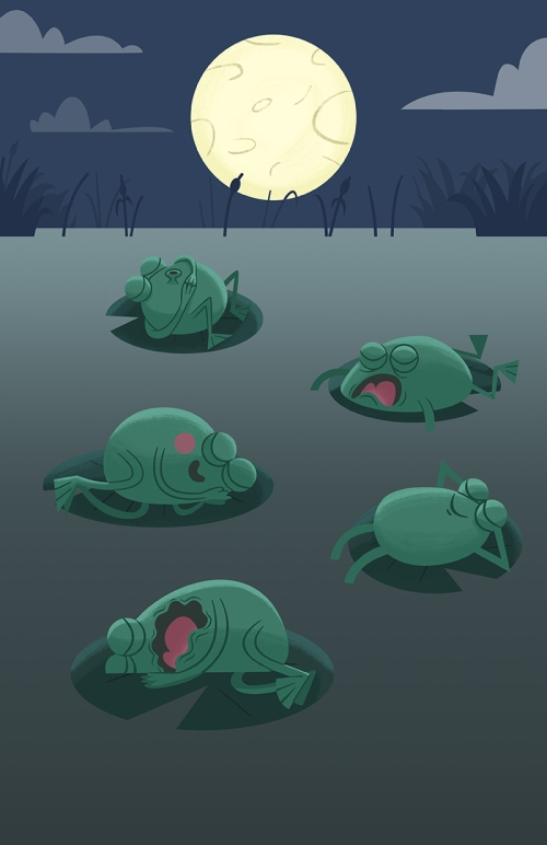 Sleeping Frogs Step 04